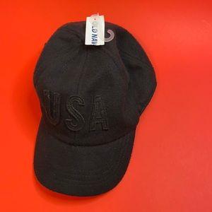 NWT Old Navy USA buckle cap